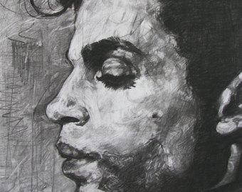 Drawn portrait made Original Order portrait Hand Made