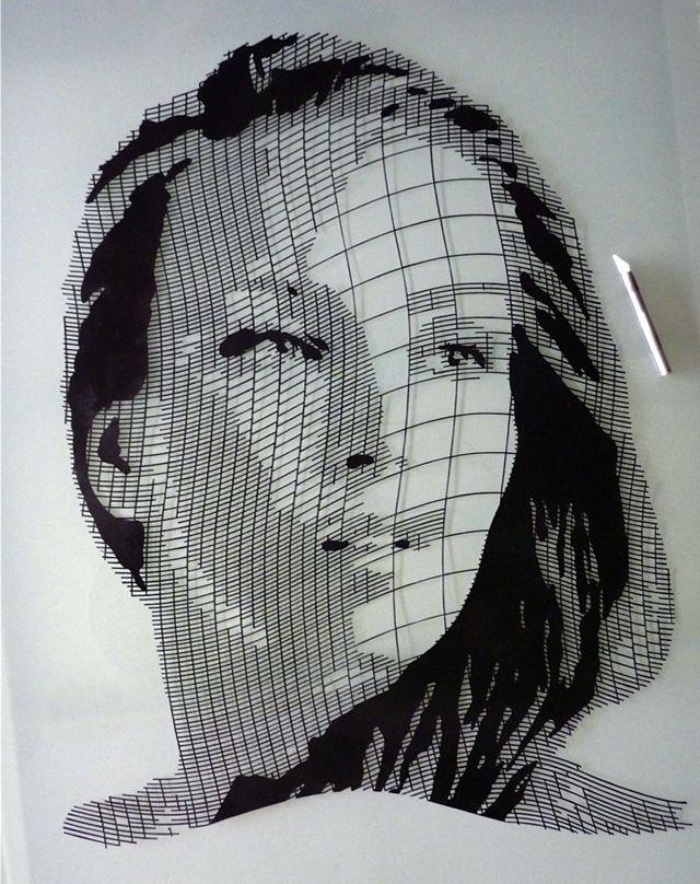 Drawn portrait made Portraits more Pinterest on best