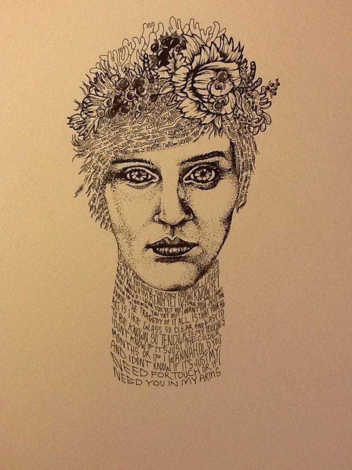 Drawn portrait made Best more Portraits on Pinterest