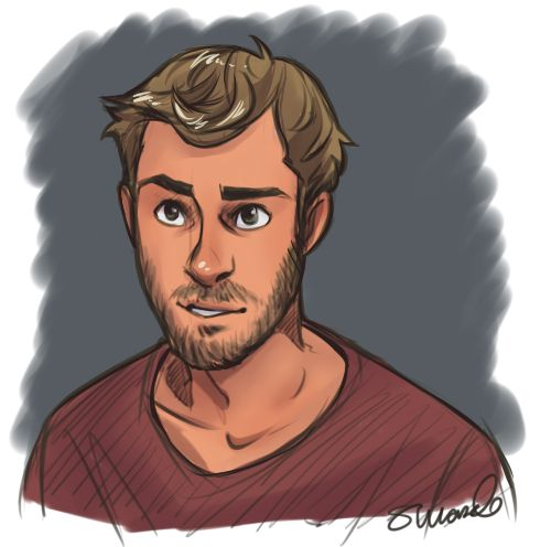 Drawn portrait male hair Being Coach character adorable ideas