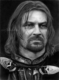 Drawn portrait man's face  George by deviantART on