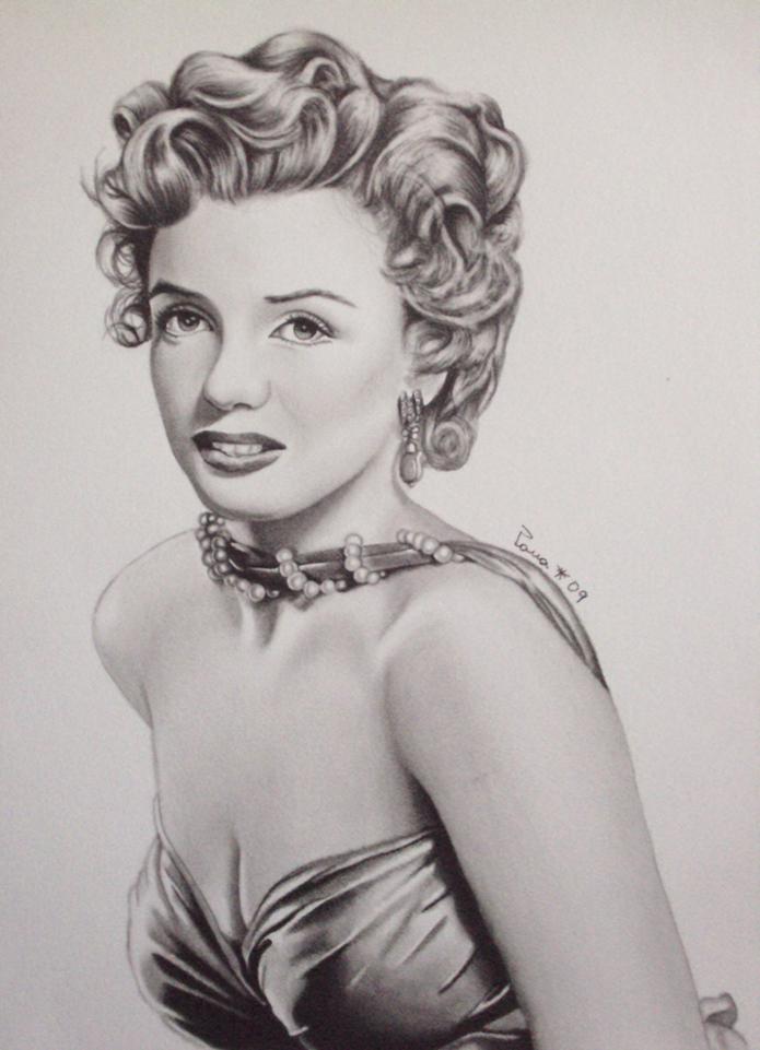 Drawn portrait marilyn monroe Artist Marilyn Marilyn Edith Tags: