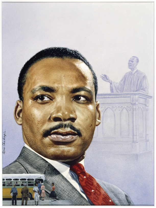 Drawn portrait martin luther king Portrait After Photos at Leader
