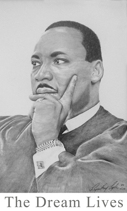 Drawn portrait martin luther king Martin Jr Luther Portrait Martin
