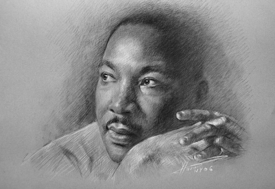 Drawn portrait martin luther king Drawing Drawing Martin Jr Luther