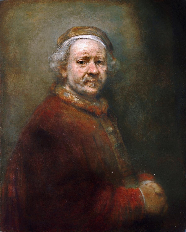 Drawn portrait master Rembrandt master of master drawn