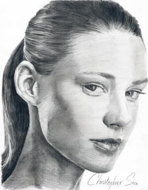 Drawn portrait master Portrait How To and How