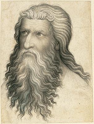 Drawn portrait master A Drawing Art Bearded Heilbrunn