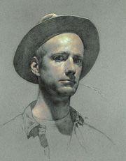 Drawn portrait master Tony 47 master Ryder on