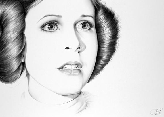 Drawn portrait minimal By IleanaHunter Hunter) Minimal (Ileana