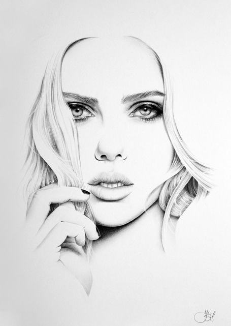 Drawn portrait minimal Pinterest Drawings deviantart com images