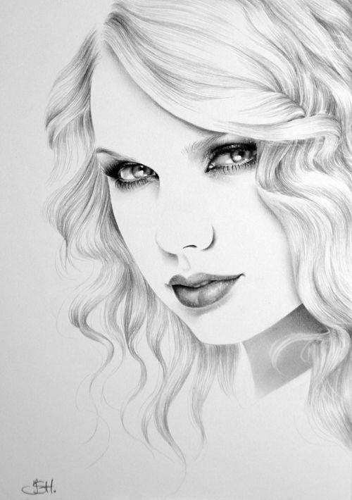Drawn portrait minimal On Pencil Ileana S Drawings