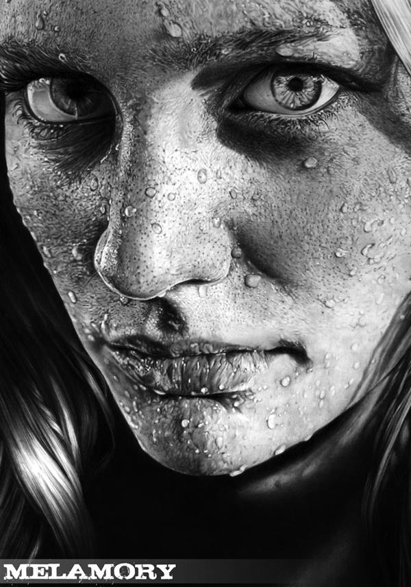 Drawn portrait minimal Portrait Excellent Excellent Examples Examples