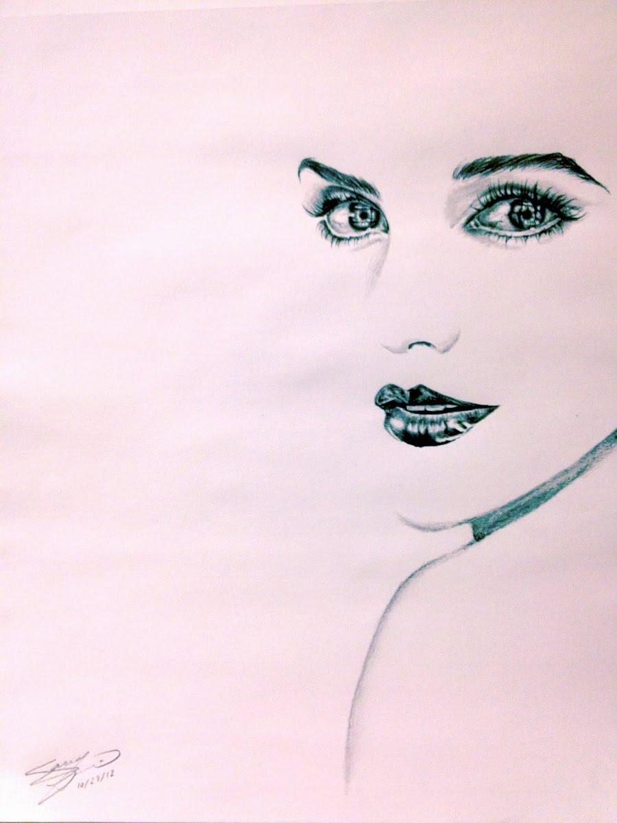 Drawn portrait minimalistic Minimalist Portrait Watson  Drawing