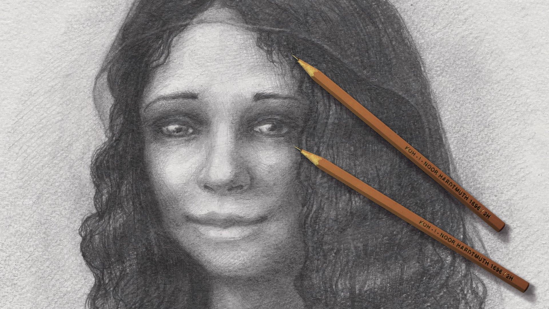 Drawn portrait mona lisa Mona Mona Лиза  da