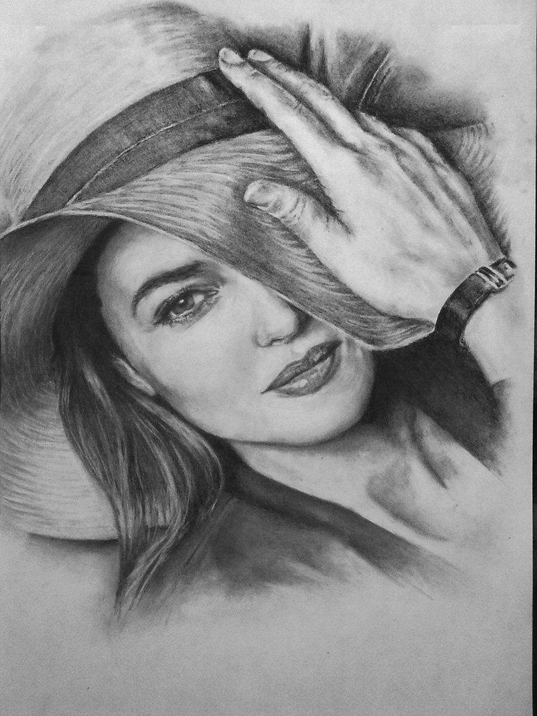 Drawn portrait monica bellucci Monica Bellucci Monica on by