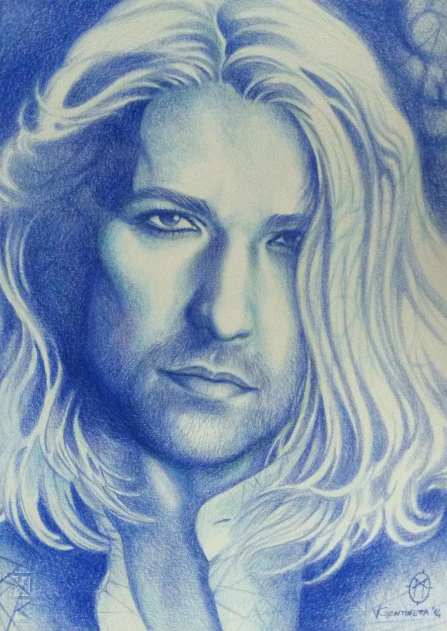 Drawn portrait monochromatic 19 Portraits : whiteshaix Visual