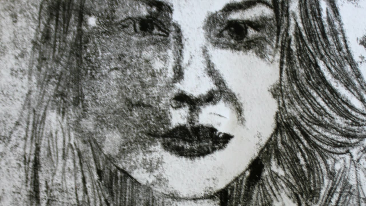 Drawn portrait monoprint YouTube Monoprinting Jackson Monoprinting Jackson