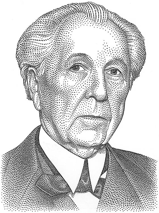 Drawn portrait pointillism Georges pointillism visage subject's of