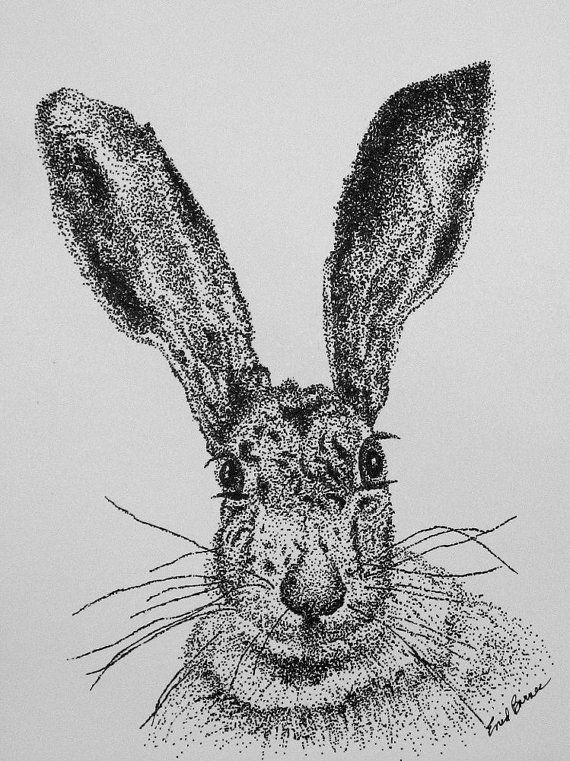 Drawn portrait pointillism Pointillism best Portrait Pen 351