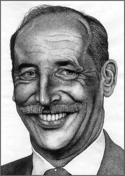 Drawn portrait pointillism Artist Mark by  Pointillism