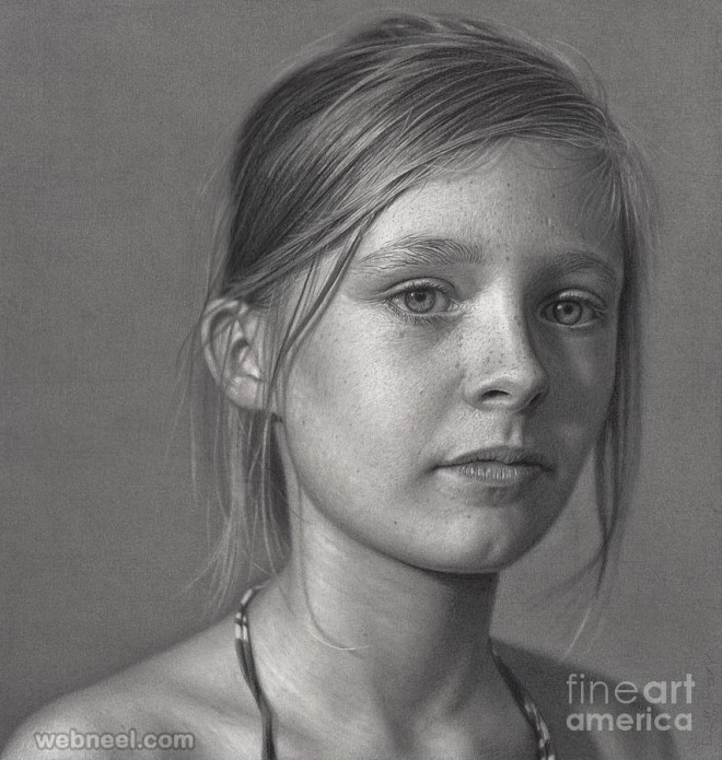Drawn portrait portait And drawing dirk by Portrait