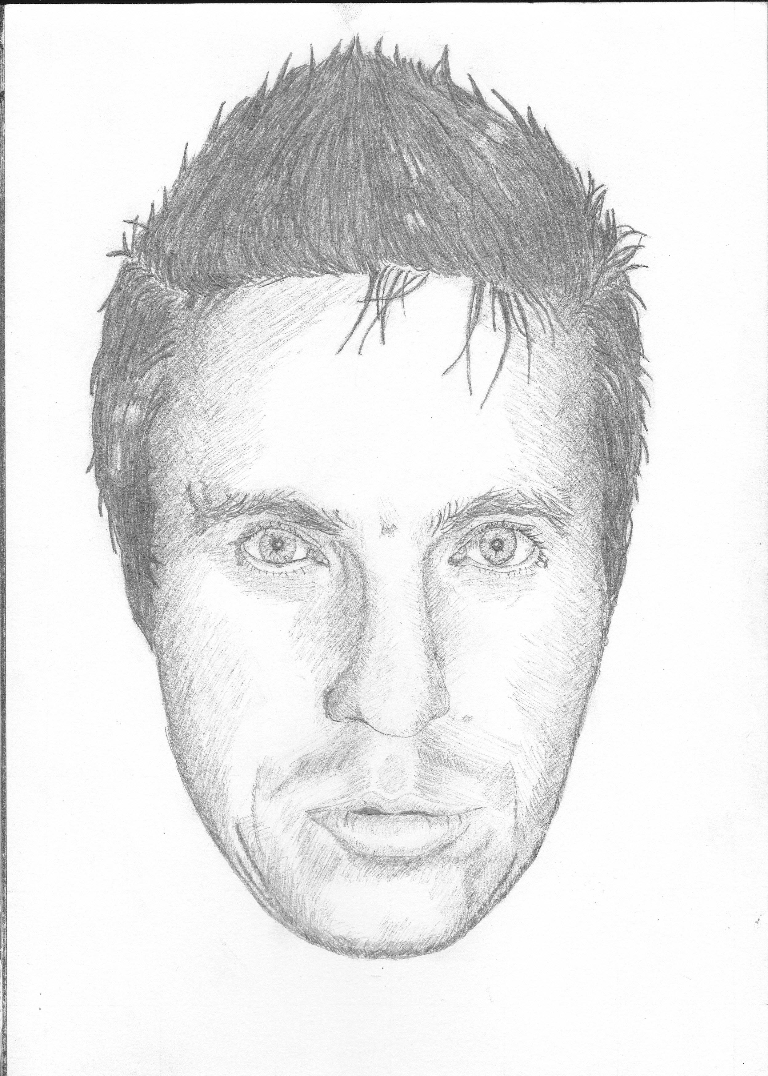 Drawn portrait portait 15th (9th Life portrait self