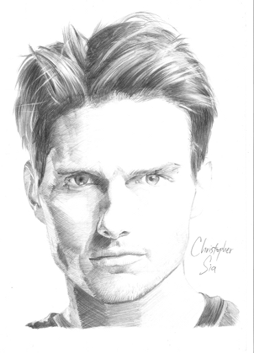 Drawn portrait portait Pencil Learn Tutorial Portrait myportraitdrawing3