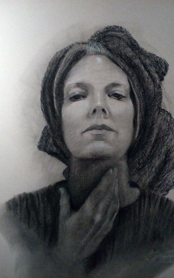 Drawn portrait portait Of Original