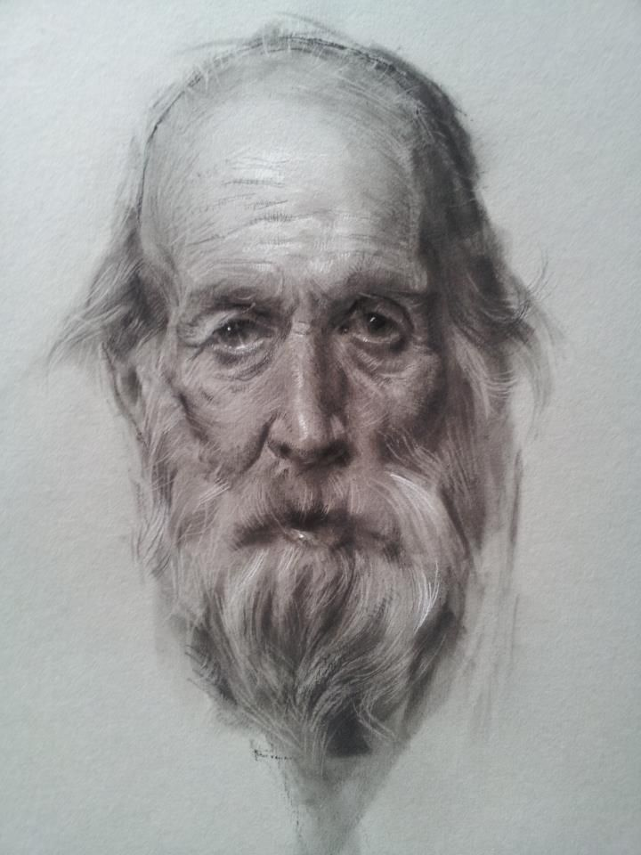 Drawn portrait professional By Charcoal Pencil Find City