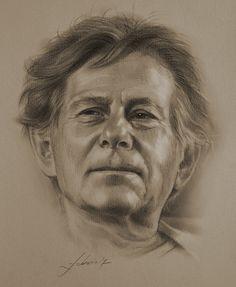 Drawn portrait professional  Portraiture 21 Johansson drawing