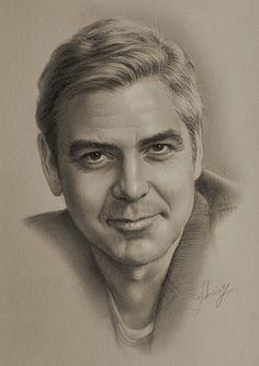 Drawn portrait professional Games The Gale George Hemsworth