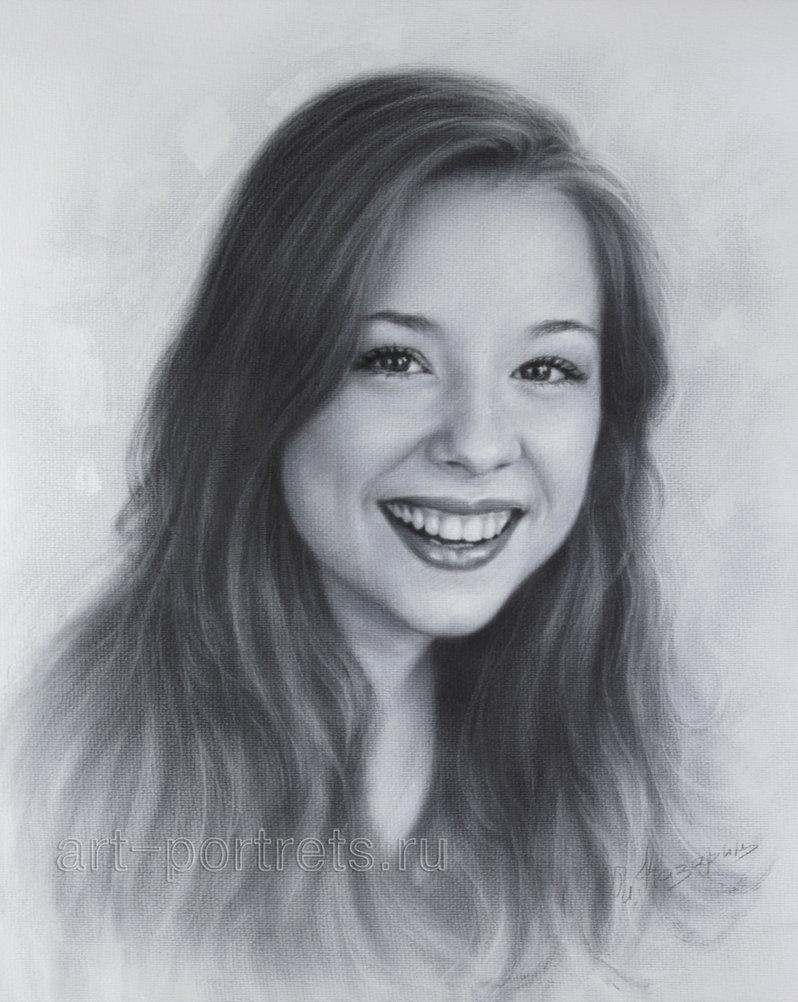 Drawn portrait professional DeviantArt Drawing Kazarin) Drawing portrait