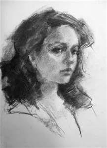 Drawn portrait professional Pinterest original Robyn's Charcoal Find