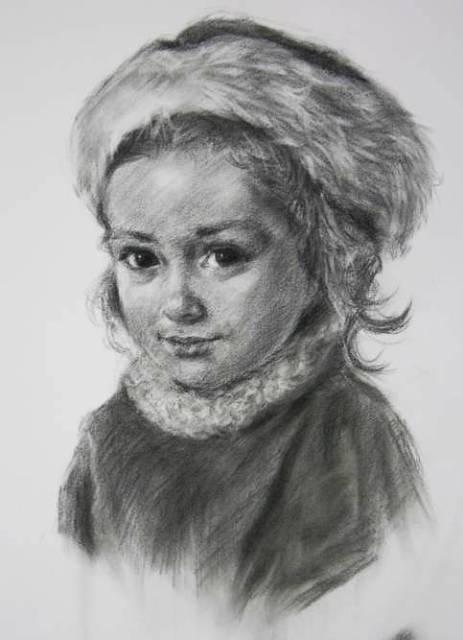 Drawn portrait professional DSCN3764s Artemisia Art Studio jpg