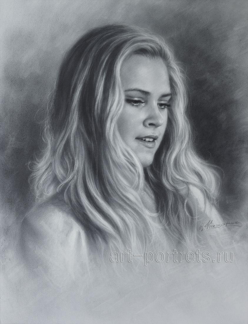 Drawn portrait professional Portraits Portraits by Drawing Brush