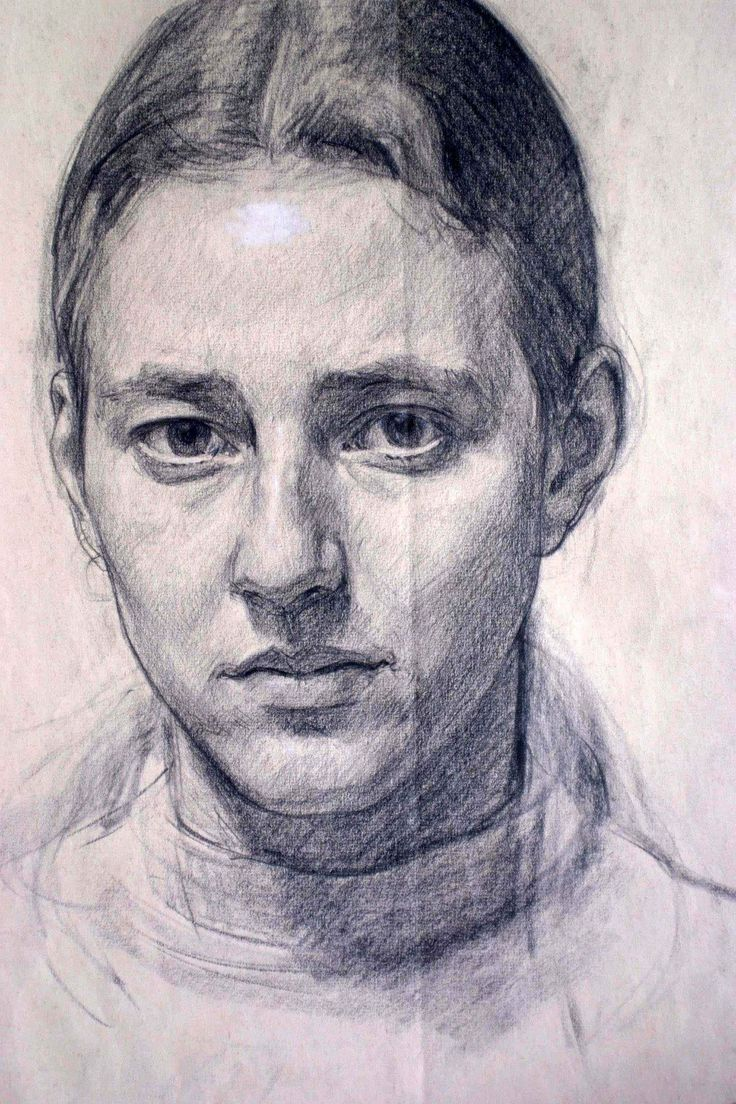 Drawn portrait progressive And Charcoal Fowkes Charcoal drawing