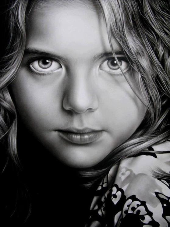 Drawn portrait realistic  122 Hyper on best