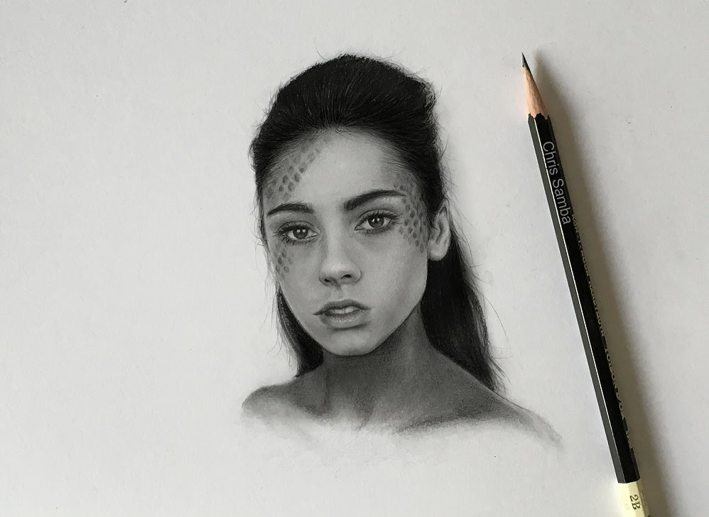 Drawn portrait realistic YouTube DRAWING A REALISTIC REALISTIC