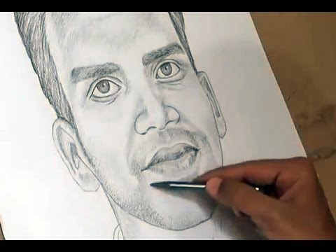 Drawn portrait shaded face How Draw Shading To Drawing