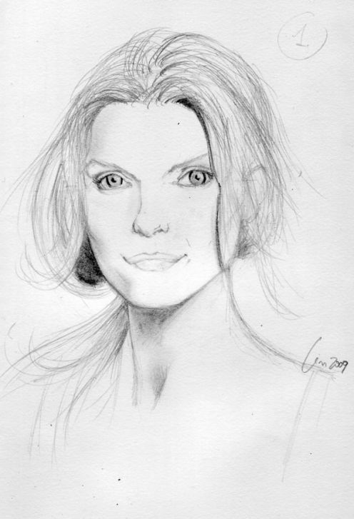 Drawn portrait simple Drawing:  approach HubPages Portrait