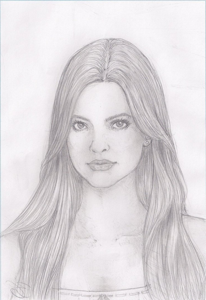 Drawn portrait simple pencil Drawing Draw To Perfect To
