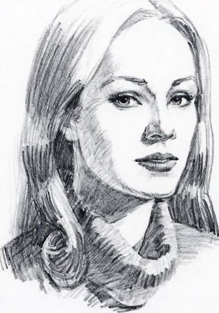Drawn portrait simple pencil Wendon Drawing Shading Scenery Pencil