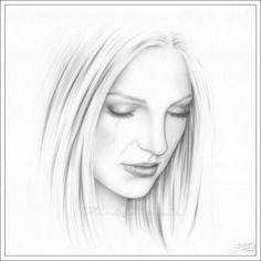 Drawn portrait simple pencil Skin : Google DRAW 4