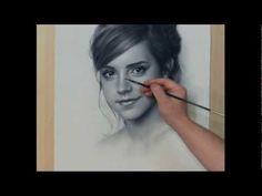 Drawn portrait speed Brush Watson Speed ▶ portrait