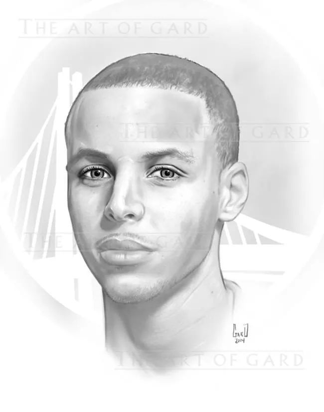 Drawn portrait stephen curry Images Drawings The Pinterest Stephen