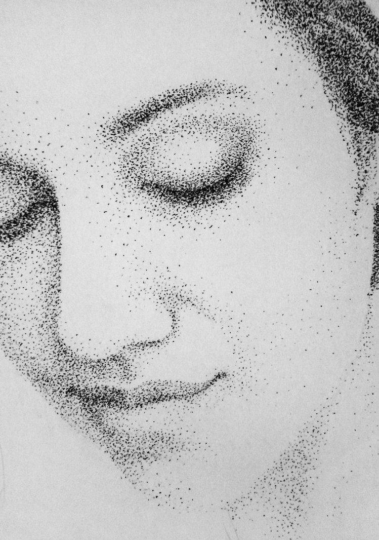 Drawn portrait stippling Portraits Google Search Search Google
