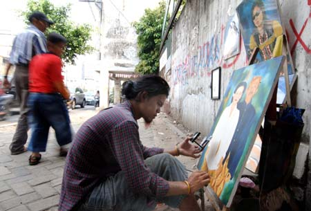 Drawn portrait street For Lifestyle SINA customers live