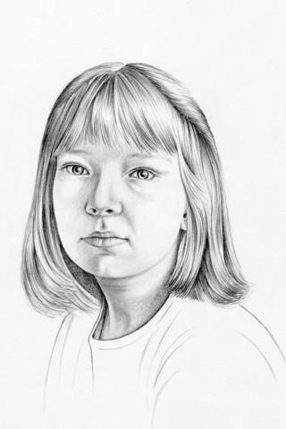 Drawn portrait tonal A Drawing The Pencil Portrait