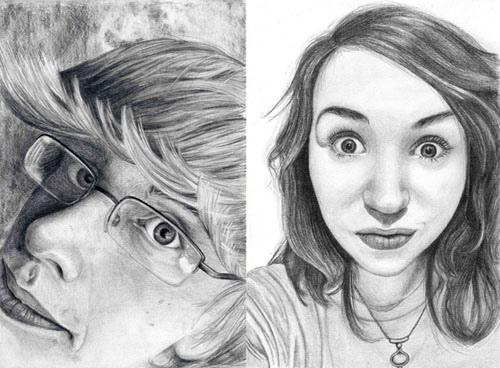 Drawn portrait tonal Level: my A Tonal p…